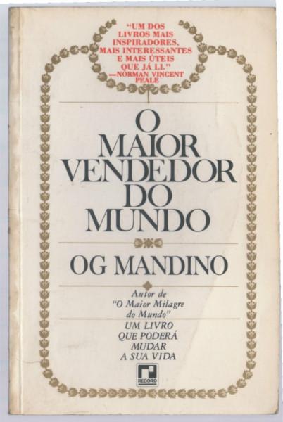 Capa de O maior vendedor do mundo - Og Mandino