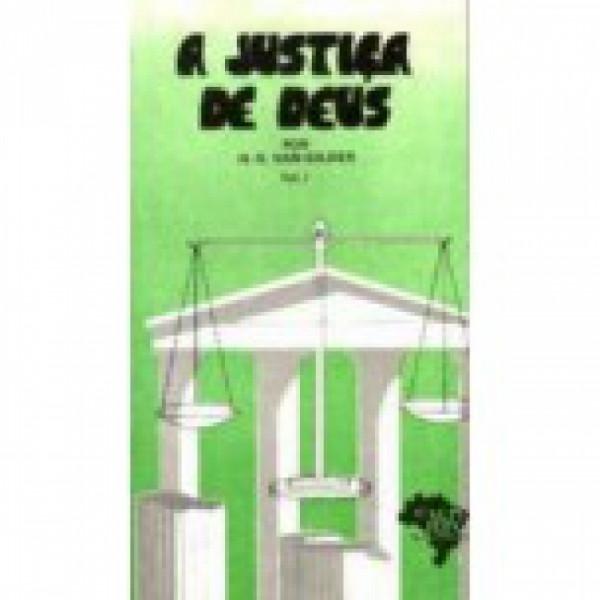 Capa de A justiça de Deus - H. O. Van Gilder