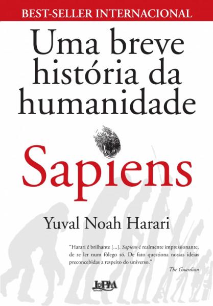 Capa de Sapiens - Yuval Noah Harari