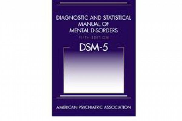 Capa de Manual Diagnóstico e estatístico de Transtornos Mentais DSM 5 - American Psychiatric Association