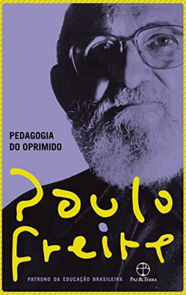 Capa de Pedagogia do oprimido - Paulo Freire