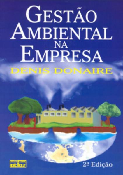 Capa de Gestão Ambiental na Empresa - DONAIRE, Denis