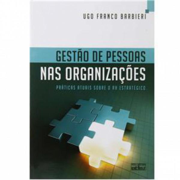 Capa de Gestão de Pessoas Nas Organizações - BARBIERI, Ugo Franco