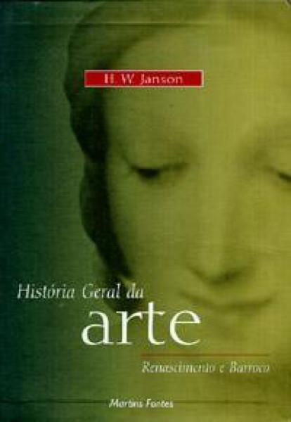 Capa de História Geral da Arte - JANSON, H.W.