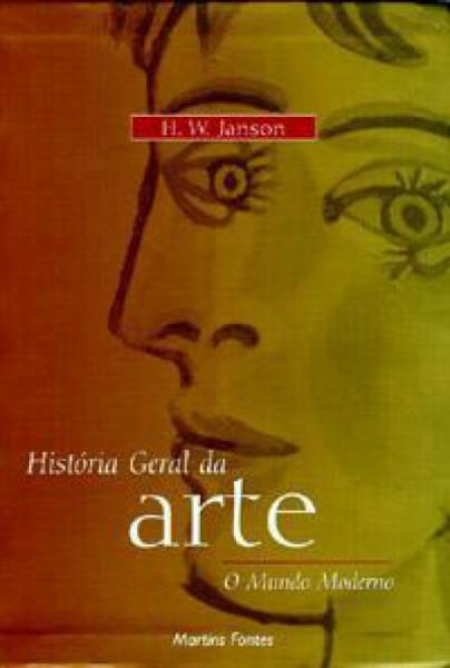 Capa de História Geral da Arte - JANSON, H. W.