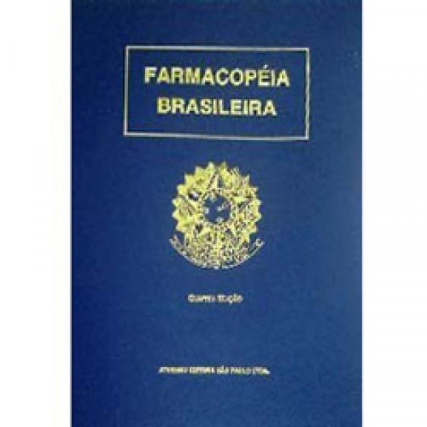 Capa de Farmacopéia Brasileira - Comissão Permanente de Revisão da Farmacopéia Brasileira