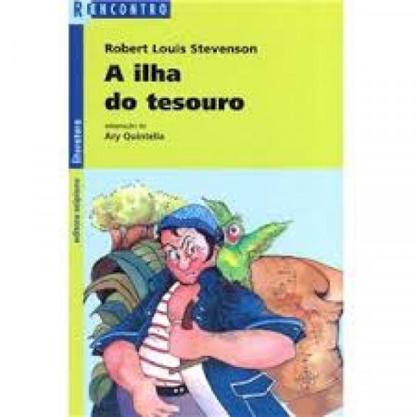 Capa de A ilha do tesouro - Robert Louis Stevenson