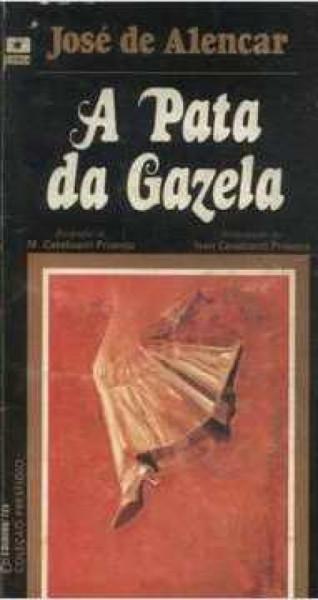 Capa de A pata da gazela - José de Alencar