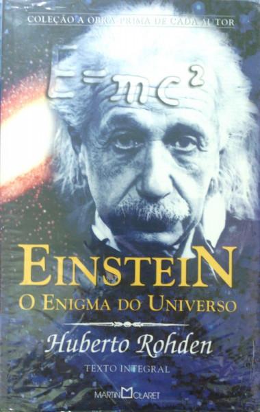 Capa de Einstein: O enigma do Universo - Humberto Rodhen