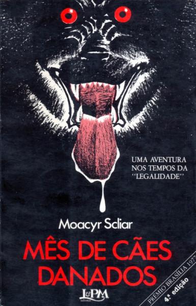 Capa de Mês de cães danados - Moacyr Scliar