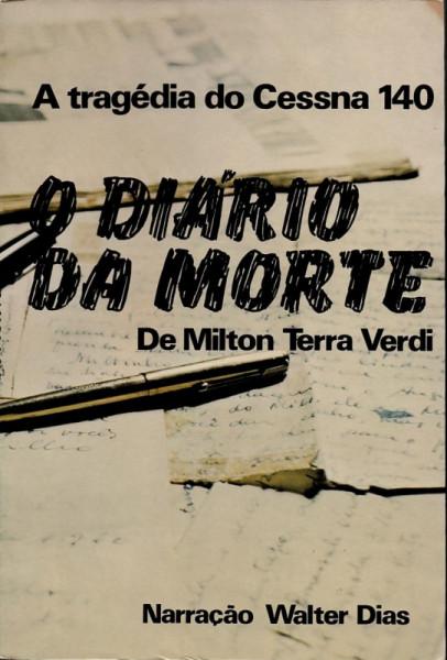 Capa de O diário da morte - Milton Terra Verdi