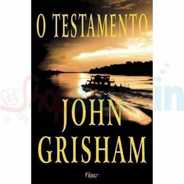 Capa de O testamento - John Grisham