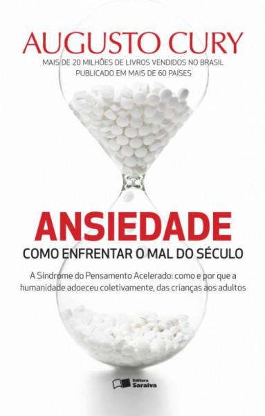Capa de Ansiedade - Augusto Cury