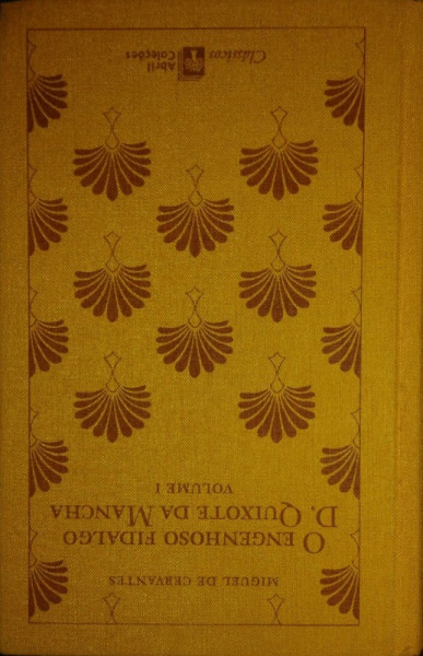 Capa de O egenhoso fidalgo Dom Quixote da Mancha volume 1 - Miguel de Cervantes