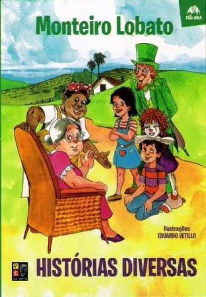 Capa de Histórias diversas - Monteiro Lobato
