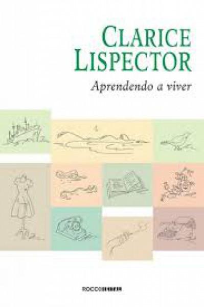 Capa de Aprendendo a viver - Clarice Lispector