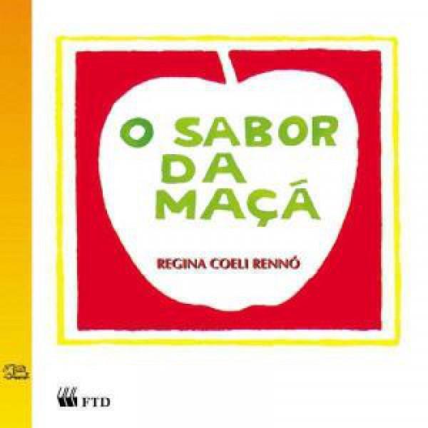 Capa de O Sabor da Maçã - Regina Coeli Rennó