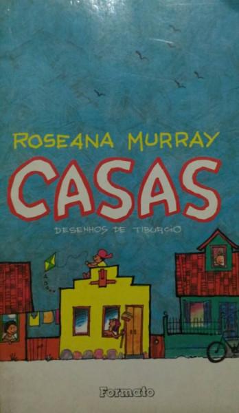 Capa de Casas - Roseana Murray