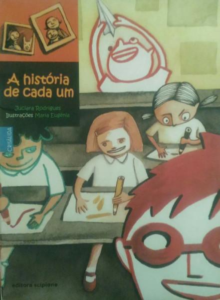 Capa de A História de Cada Um - Juciara Rodrigues