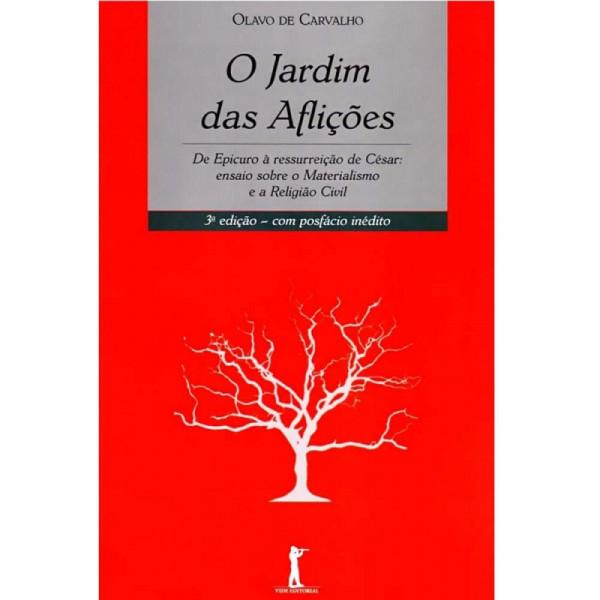 Capa de O jardim das aflições - Olavo de Carvalho
