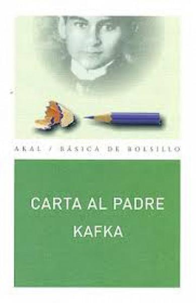 Capa de Carta al padre - Franz Kafka