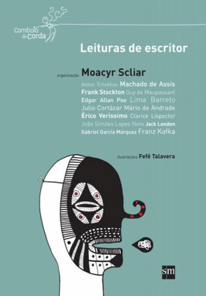 Capa de Leituras de escritor - Moacyr Scliar (org.)