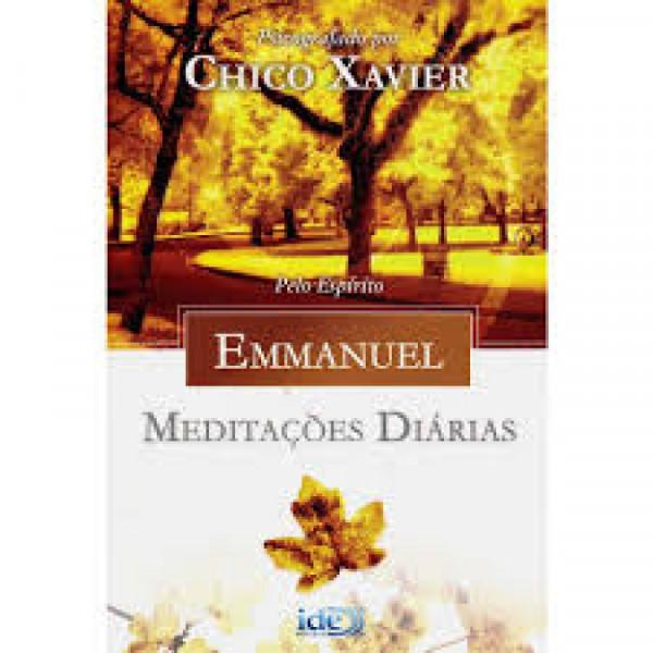 Capa de Meditações diárias - Francisco Cândido Xavier