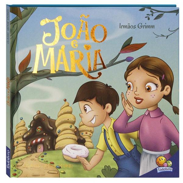 Capa de João e Maria - Irmãos Grimm