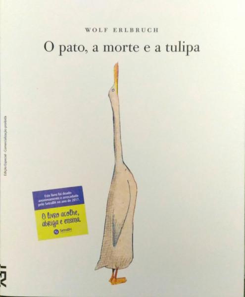 Capa de O pato, a morte e a tulipa - Wolf Erlbruch