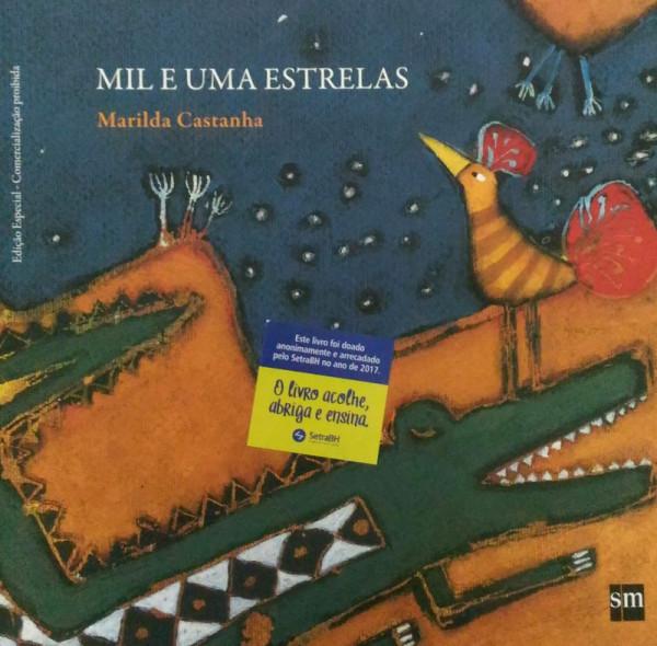 Capa de Mil e Uma Estrelas - Marilda Castanha