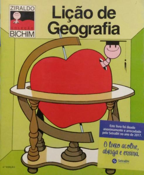 Capa de Lição de geografia - Ziraldo
