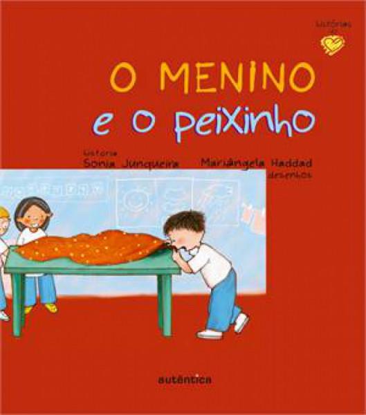 Capa de O menino e o peixinho - Sonia Junqueira