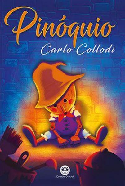 Capa de Pinóquio - Carlo Collodi
