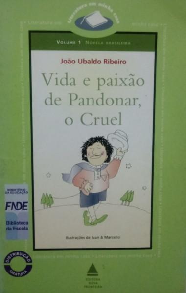 Capa de Vida e paixão de Pandonar, o cruel - João Ubaldo Ribeiro