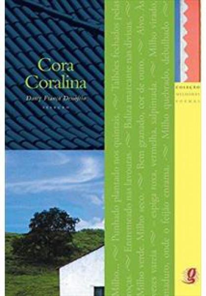 Capa de Melhores poemas Cora Coralina - Cora Coralina; Darcy França Denófrio (org.)