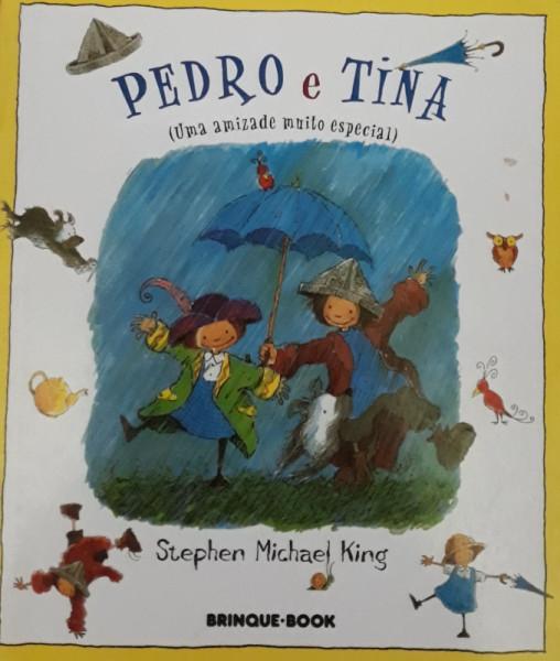 Capa de Pedro e Tina - Stephen Michael King