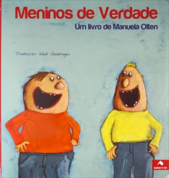 Capa de Meninos de verdade - Manuela Olten