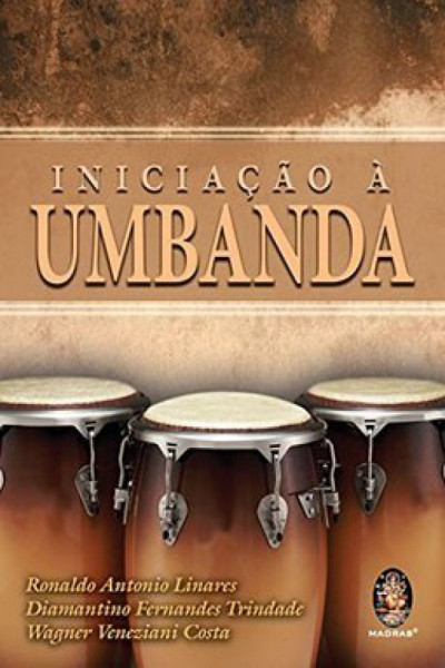 Capa de Iniciação à umbanda - Ronaldo Antonio Linhares