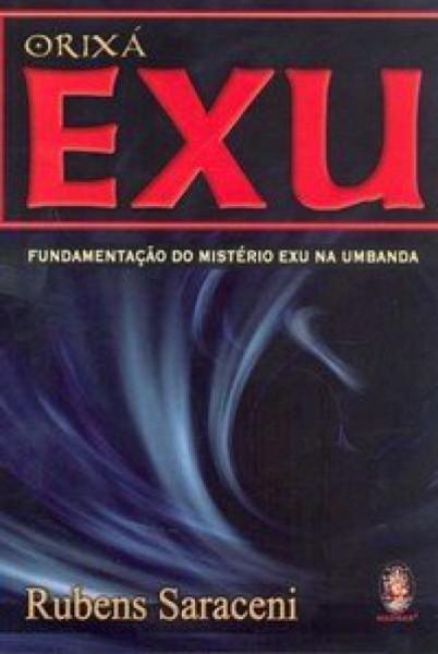 Capa de Orixá exu - Rubens Saraceni
