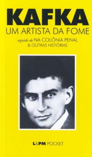 Capa de Um artista da fome - Franz Kafka