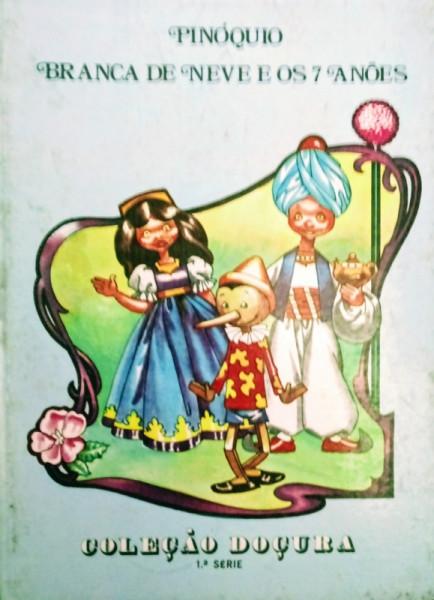 Capa de Pinóquio e Branca de Neve e os 7 anões - Ubiratan Rosa