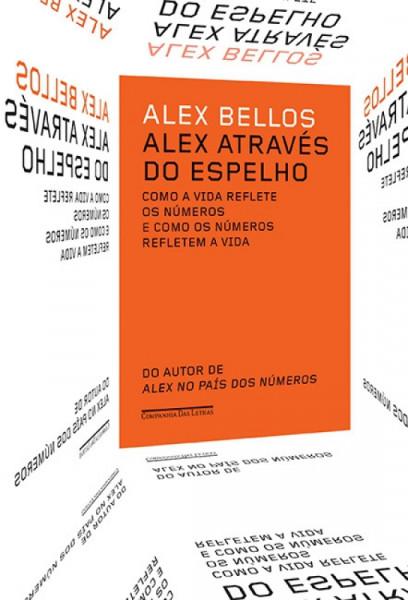 Capa de Alex através do espelho - Alex Bellos