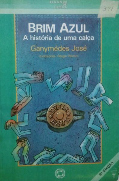 Capa de Brim azul - Ganymédes José