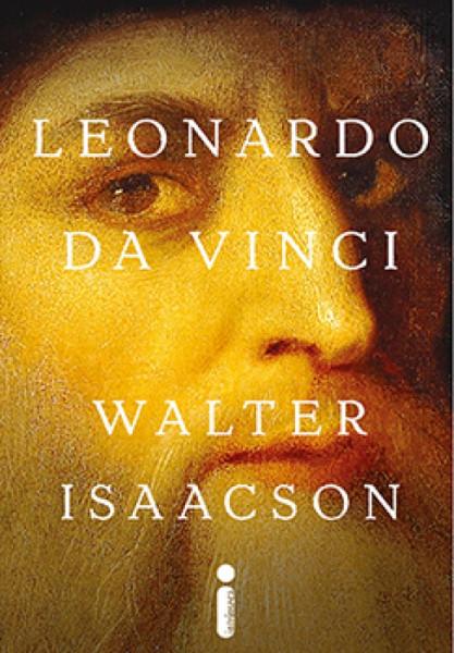 Capa de Leonardo Da Vinci - Walter Isaacson