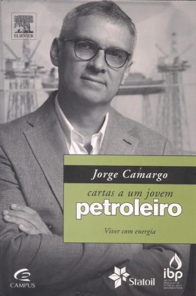 Capa de Cartas a um jovem petroleiro - Jorge Camargo