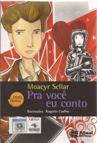 Capa de Pra você eu conto - Moacyr Scliar; Rogerio Coelho