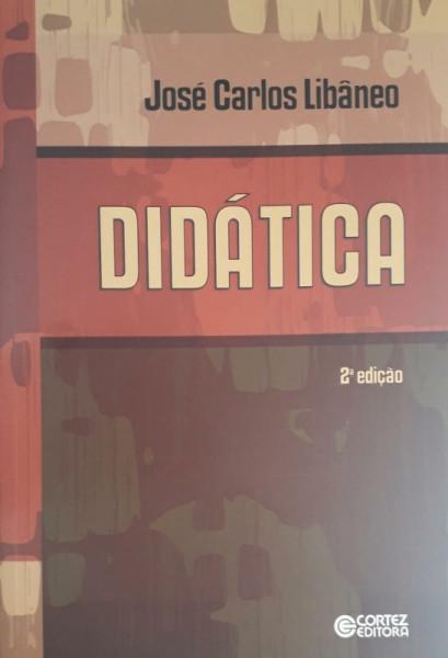Capa de Didática - José Carlos Libâneo