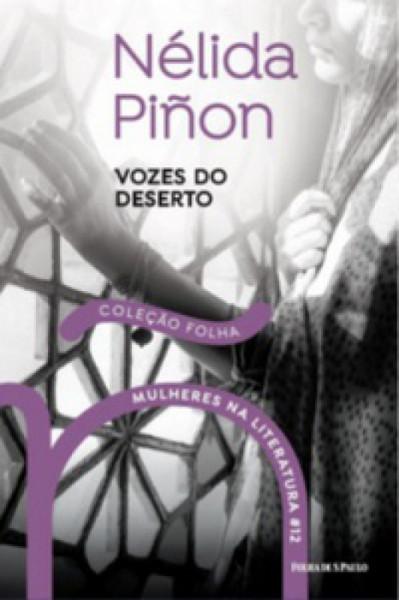 Capa de Vozes do Deserto - Nélida Piñon