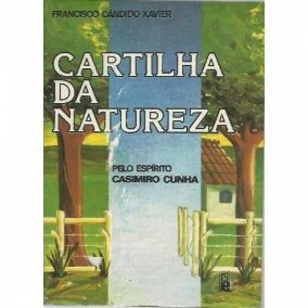 Capa de Cartilha da natureza - Francisco Cândido Xavier