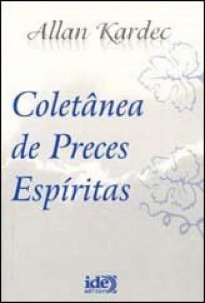 Capa de Coletânea de preces espíritas - Allan Kardec